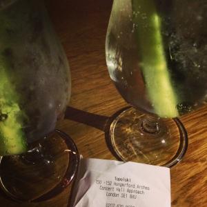 Cucumber Gin and Tonics