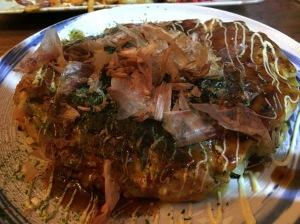 Pork and Kimchi Okonomiyaki