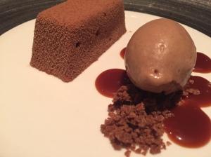 Aero type chocolate dish