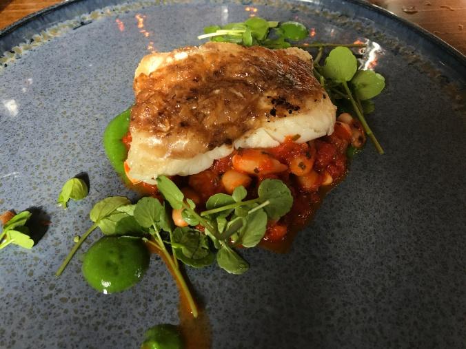 Cod with bone marrow