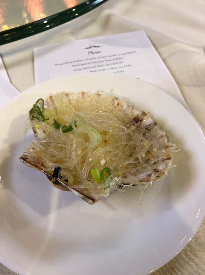 Scallop and glass noodles
