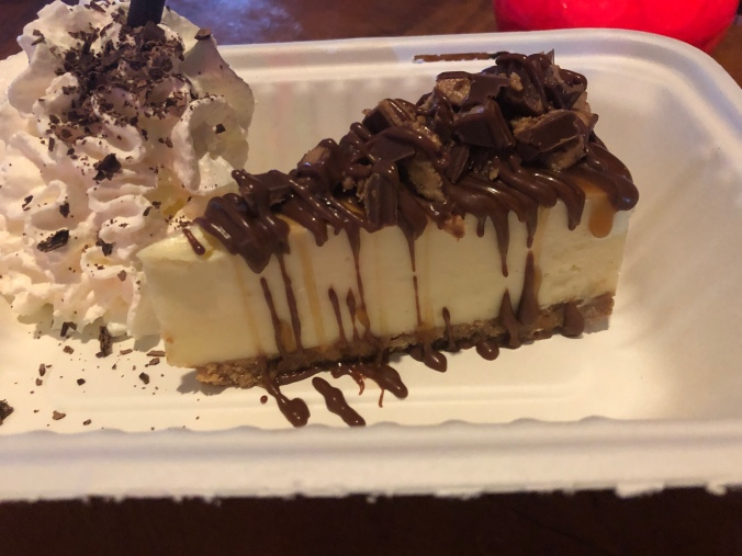 Cheesecake at Apocalypse Cow in Ghetto Golf Birmingham